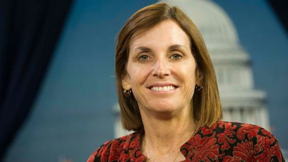 Rep. Martha McSally's campaign coffers got a big boost in the first quarter.