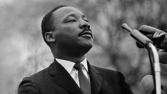 Martin Luther King Jr. was born Jan. 15, 1929, in Atlanta and was assassinated before he turned 40 on April 4, 1968.