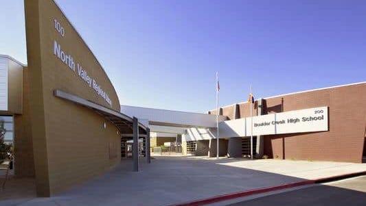 Boulder Creek High School in the Anthem suburb of Phoenix.