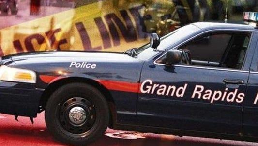 Grand Rapids police car.