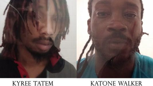 Defendants Kyree Tatem and Travon Anthony, aka Katone Walker, are shown.
