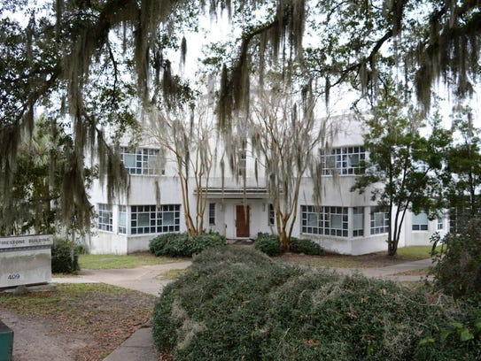 """Old Leon County Jail is home to the first """"jail-in"""""""