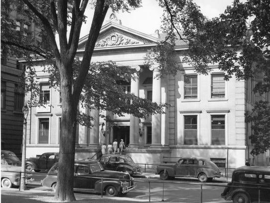 The Binghamton Public Library, where the City Historian