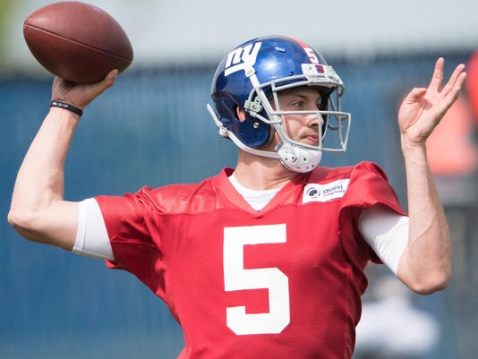 NFL: New York Giants-Rookie Minicamp