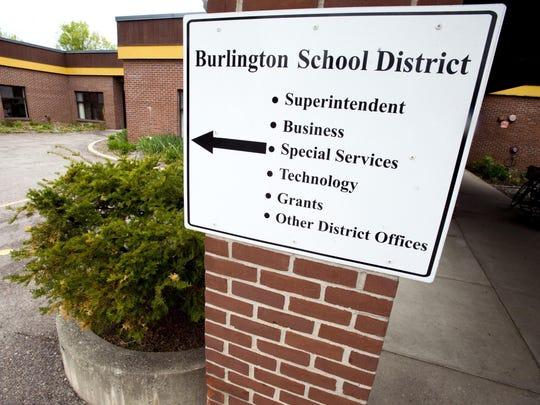 The Burlington School District administrative offices at 150 Colchester Ave. in Burlington.