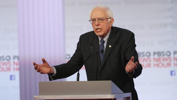 Sanders says his victory would make history, too