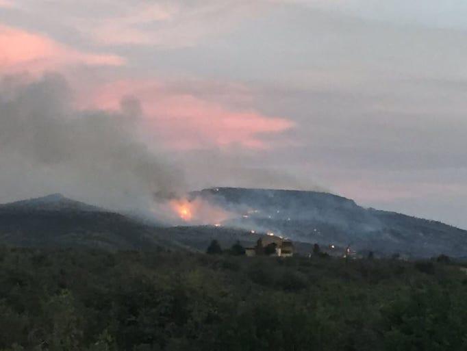 Tenderfoot Fire near Tenderfoot Fire near Yarnell,