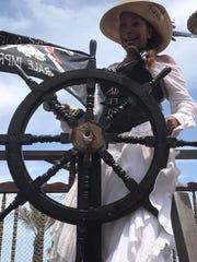Carmen Nieves owns Panama Pearl's Pirate World.