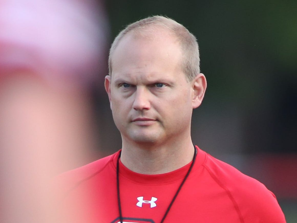 Clinton Twp. Chippewa Valley coach Scott Merchant
