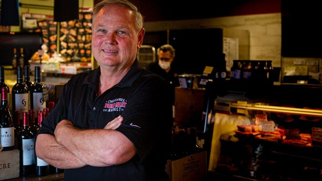 Ralph Lewis is third generation owner of the Okeechobee Steakhouse in West Palm Beach.