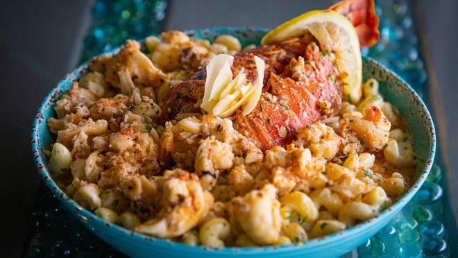 Lobster mac and cheese at Catch Clean Cook Marketplace and Deli.