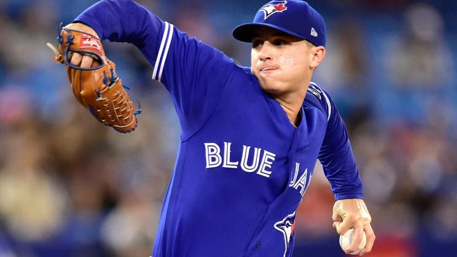 Rhode Island native Thomas Pannone, the former Bishop Hendricken star, is on the 60-man roster of the Blue Jays.