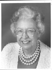 Margaret Thirtle in 1990.
