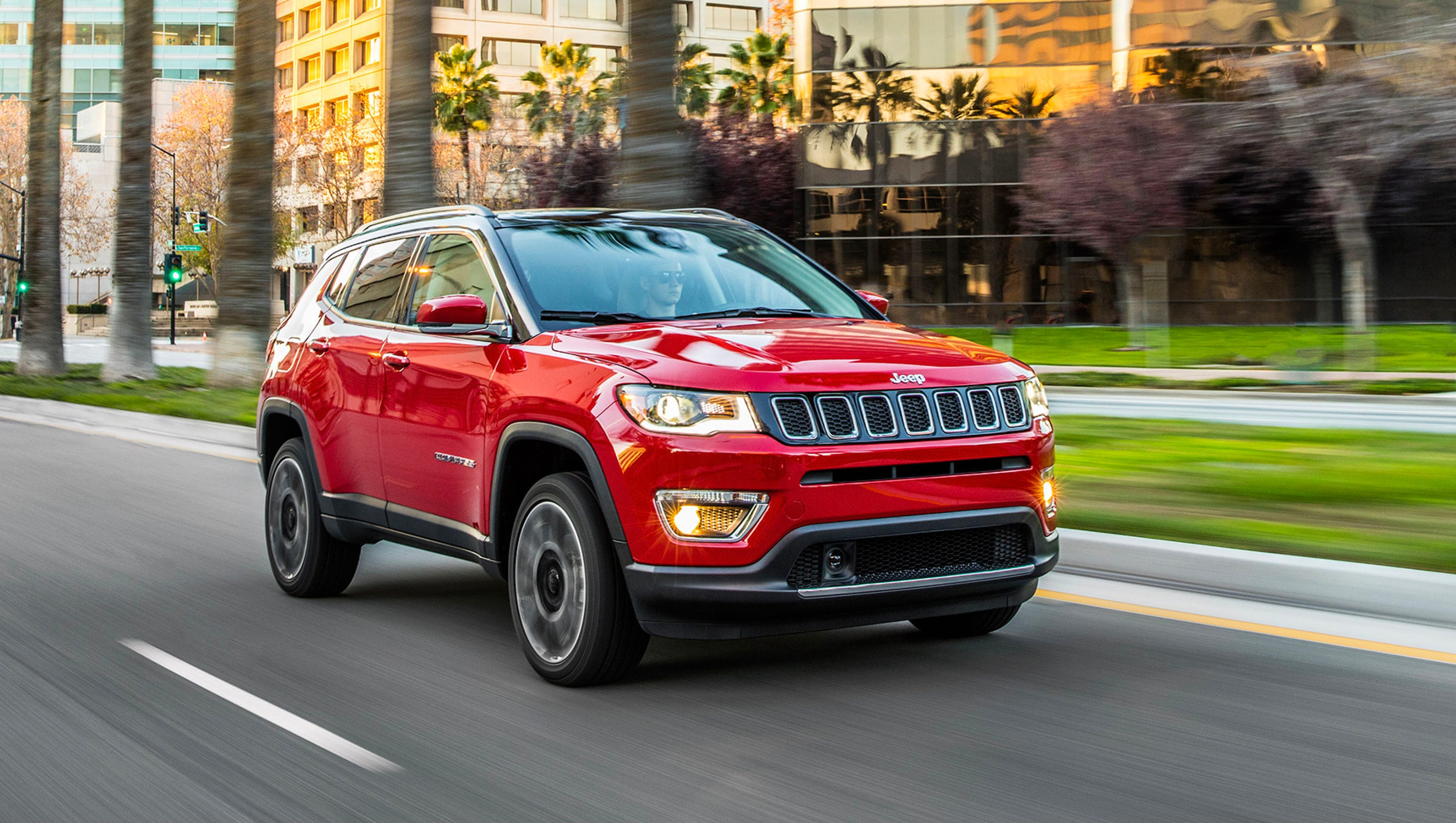 Review 2017 Jeep Compass Lives Up To Brand S Heroic