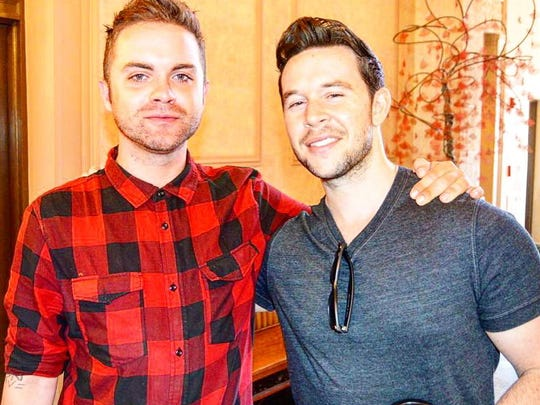 Thomas Dekker, left, and producer Jordan Yale Levine