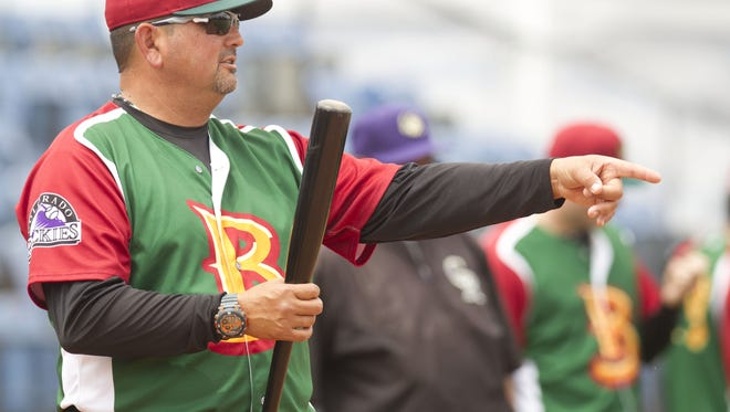 Frank Gonzales, shown managing the Boise Hawks last season, has been named the manager of the Grand Junction Rockies.
