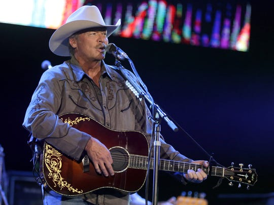 """""""It's always so cool to be playing right down the street from Lambeau Field,"""" Alan Jackson said during his Friday concert at the Resch Center."""