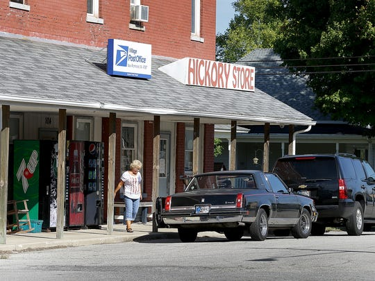 "New Richmond IN., also known at ""Hickory"" Indiana was one a several location in the state where the movie Hoosiers was filmed in the autumn of 1985."