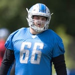 Detroit Lions' Joe Dahl: I'm ready to step in for Taylor Decker at LT if needed