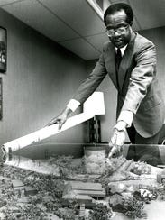 Tuskegee University president Benjamin Payton with