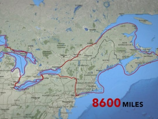 Traci Lynn Martin plans to paddle a kayak 8,600 miles.
