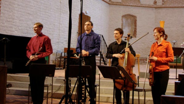 Ensemble U: from Estonia will debut a composition by St. Cloud State University professor Scott Miller this week.