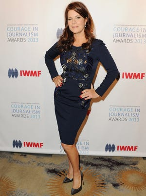 Marcia Gay Harden on Oct. 29, 2013 in Beverly Hills.