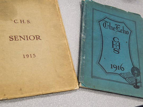 Chambersburg High School's first yearbook is from 1915