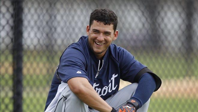 Detroit Tigers' Jose Iglesias.
