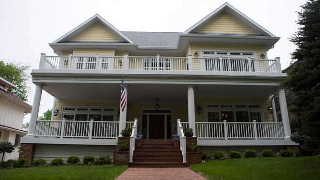 The Sapienza home is shown on Monday, May 21, 2018 in Sioux Falls, S.D.