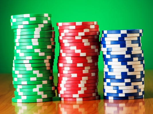 Stacked Casino Chips