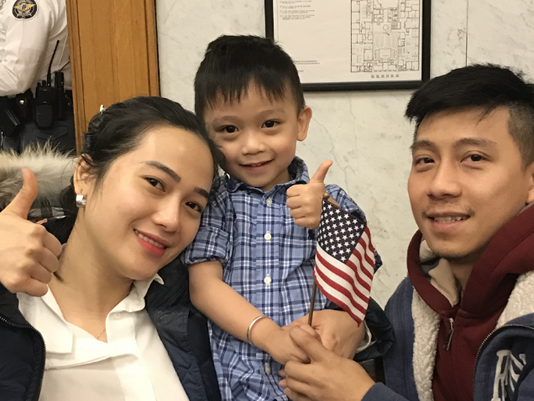 Naturalization Ceremony - 3/23/18