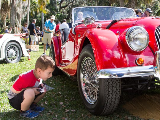 See lots of unique British cars on display July 8 at William Harbin Park in Fairfield.