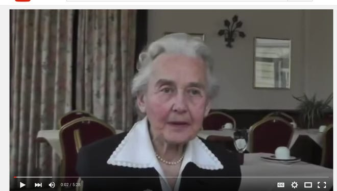 """Ursula Haverbeck-Wetzel says there's no proof that Auschwitz was a death camp and that that's """"only a belief."""""""