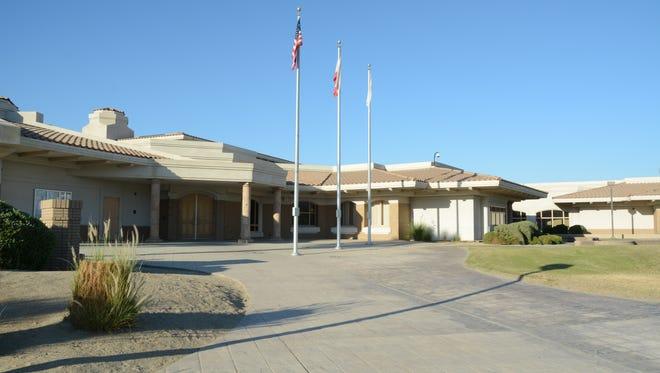 Desert Sands Unified School District office.