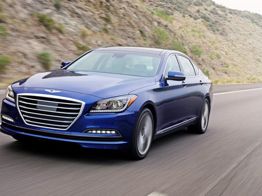 Transaction prices for the redone 2015 Genesis sedan