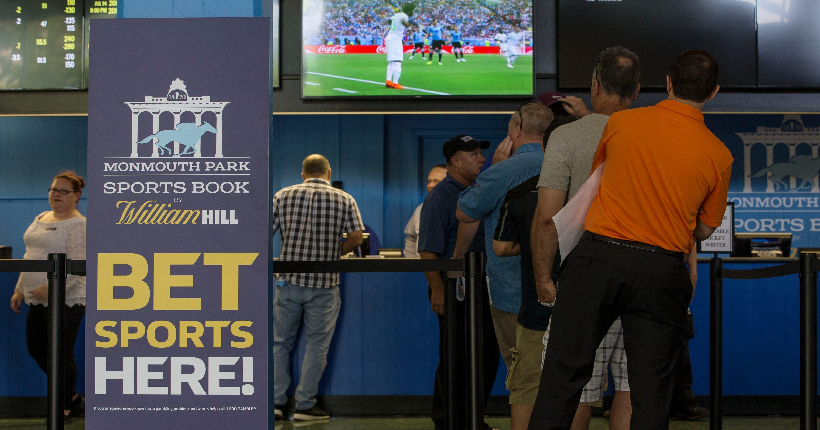 New Jersey to reveal how 1st 2 weeks of sports betting went