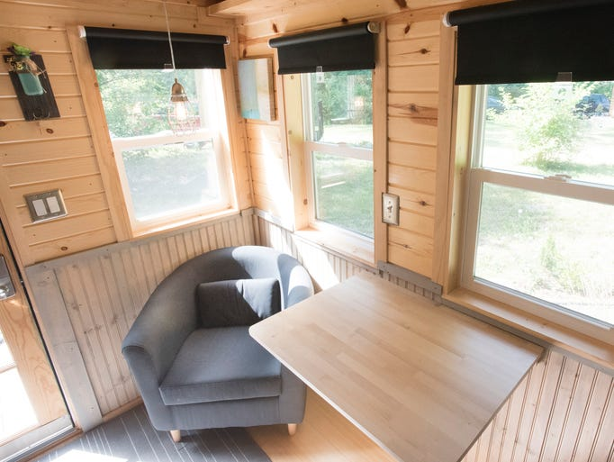 Tiny houses spring up around metro detroit for Tiny house holland michigan