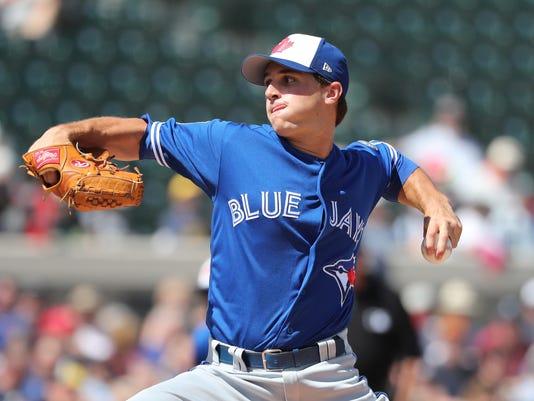 USP MLB: SPRING TRAINING-TORONTO BLUE JAYS AT DETR S BBA DET TOR USA FL