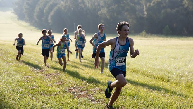 Hundreds of runners joined in the second Bluebird Run, a charity 5K to raise awareness about suicide prevention held Sep 4, 2017, at the J.R. Alford Greenway.