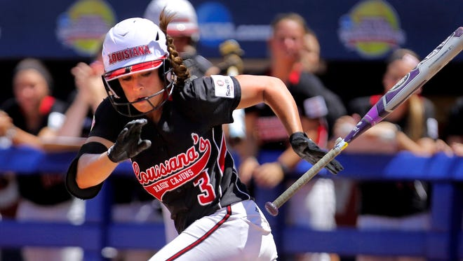 UL's Natalie Fernandez helped the Cajuns to reach the Women's College World Series in her senior year.