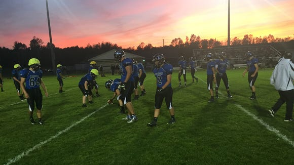 The Brockport Blue Devils, a Class A team in Section V, are 4-0.