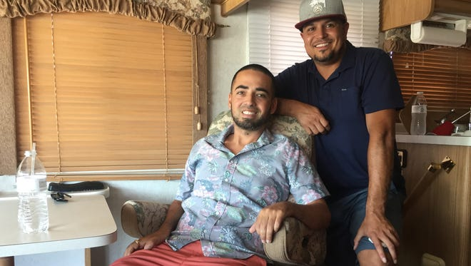 34-year-old Nate Gallardo was diagnosed with ALS on April 30, 2015. Over a year later, Gallardo and his partner Gerardo Vargas take off on bucket list road trip.