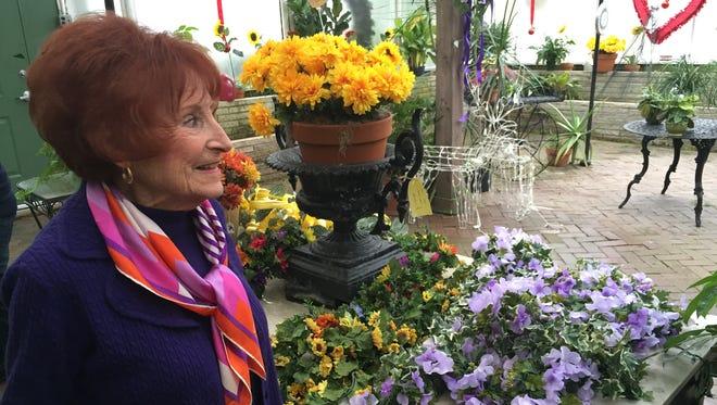 Joan Schmitt is retiring from The Flower Shop, a 140-year-old Evansville business.