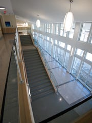 Interior of the new Rehoboth Beach City Hall.