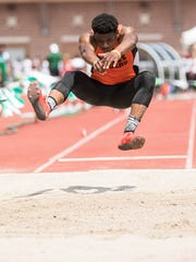 Mansfield Senior sophomore Angelo Grose had two 23-foot jumps en route to a sixth-place finish in the Division I long jump at the state track meet in Columbus.