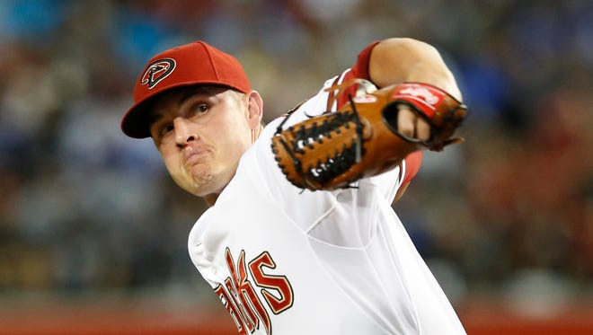 Arizona Diamondbacks pitcher Addison Reed.