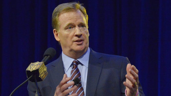 NFL Commissioner Roger Goodell wrote to Sens. John McCain and Jeff Flake that the league is returning $723,734 paid to teams for events to honor the military.