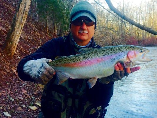 Dave Agness fish