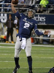 Utah State quarterback Kent Myers's play will be pivotal
